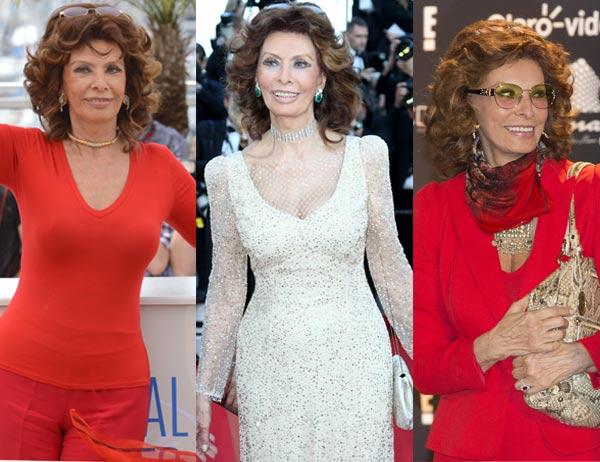 ¿Adivinarías su edad? Los impactantes 80 años de Sofía Loren y los 50 de Mónica Bellucci