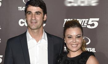 María José Campanario hace un alto en su 'retiro' para asistir al estreno de 'Torrente'