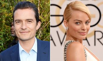 Orlando Bloom se 'encapricha' de Margot Robbie, la belleza de 'El Lobo de Wall Street'
