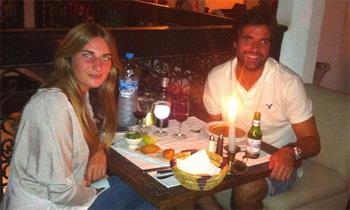 Sibi Montes y su novio, Álvaro Sanchís, viven su amor en Marruecos