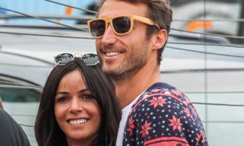 Raquel del Rosario y Leo, ya están en Estados Unidos