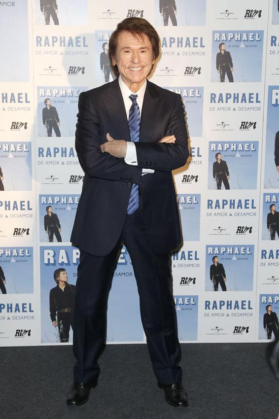 Raphael, inagotable a sus 71 años: 'Para mí cada día es el primero y puede que el último'