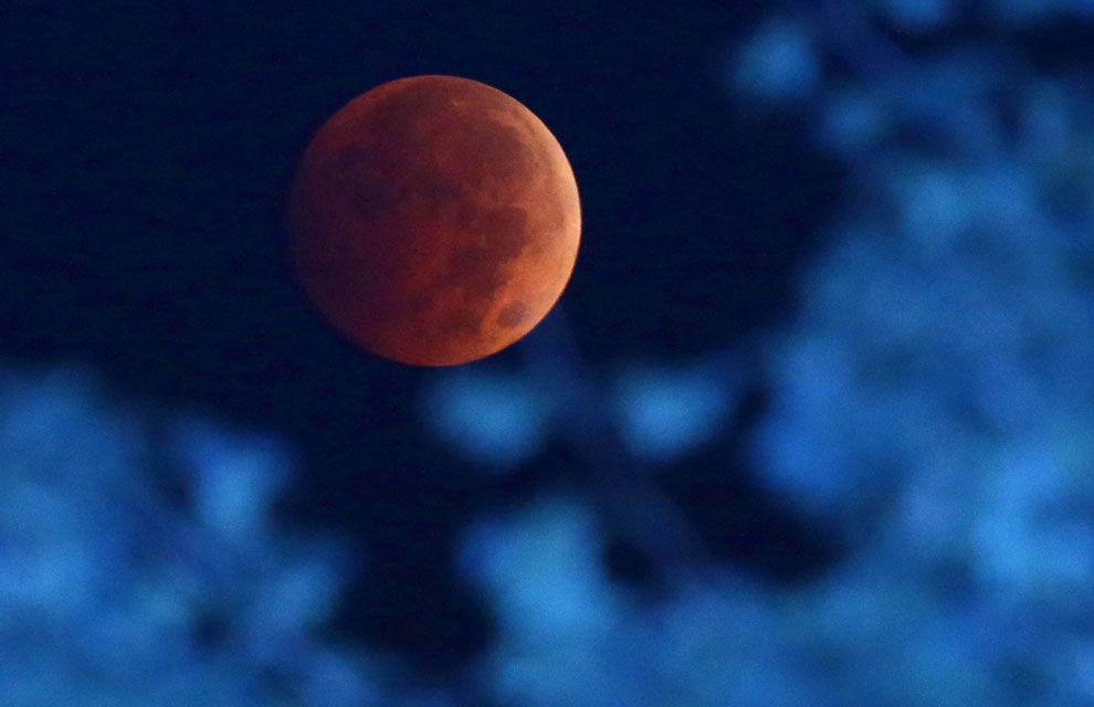 La 'luna de sangre', un espectáculo mundial