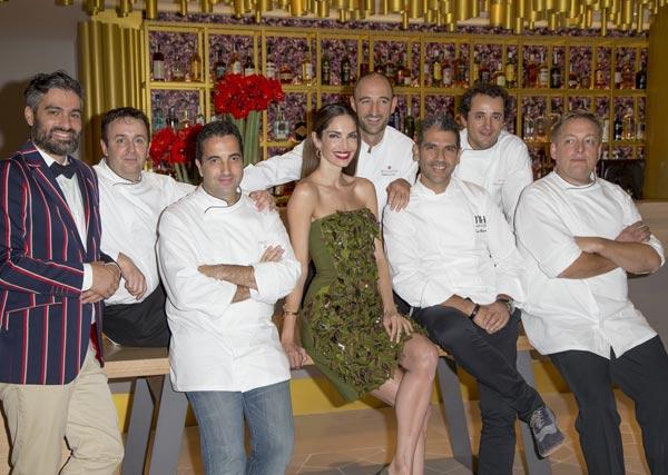 Eugenia Silva, José Coronado y Cari Goyanes, entre otros, en una fiesta para amantes de la buena mesa