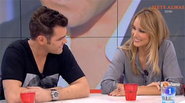 La visita de Fonsi Nieto al programa en el que colabora su ex, Alba Carrillo: 'Me enteré de su boda antes que nadie'