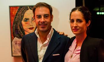 Miguel Báez 'El Litri' y Carolina Herrera, un matrimonio amante del arte