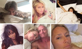 Así amanecen la princesa Marie Chantal, Naomi Campbell, Sting o Paris Hilton