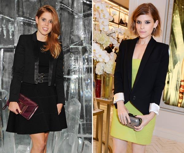 Modelos, estrellas de Hollywood y una Princesa se dan cita en Londres