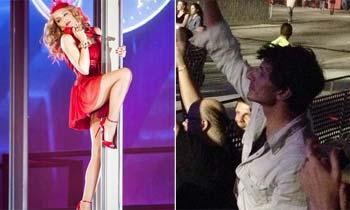 Andrés Velencoso vuelve a mover las caderas al ritmo de Kylie Minogue