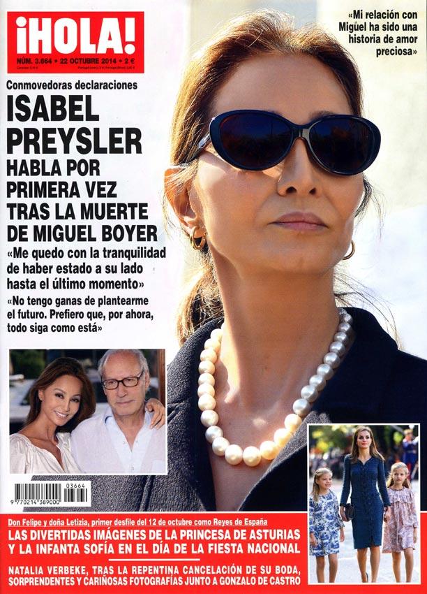 Isabel Preysler, tras la muerte de Miguel Boyer