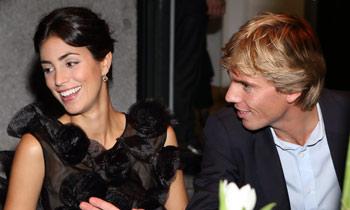 Alessandra de Osma brilla en una noche de joyas, junto a ... Felipe De Osma Berckemeyer