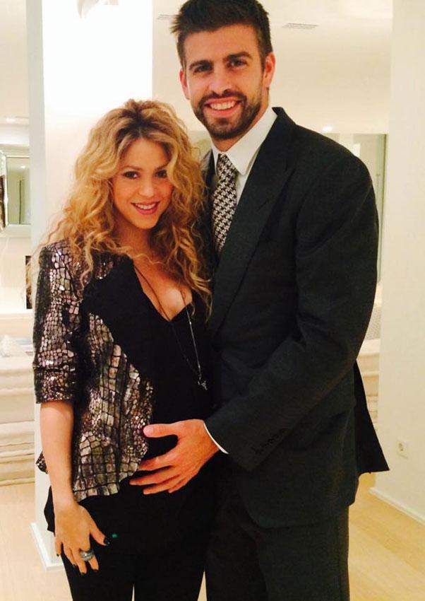 Shakira y Piqué ya no esconden su felicidad por su segunda paternidad