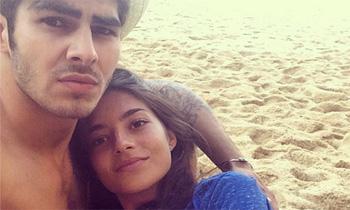 Rocío, la hija de Carlos Herrera y Mariló Montero, es novia de Jaime, el hijo del fallecido actor José Conde