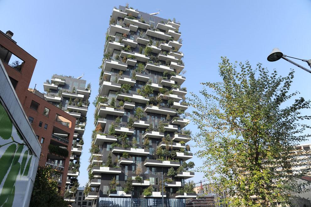 El 'bosque vertical' de Milán