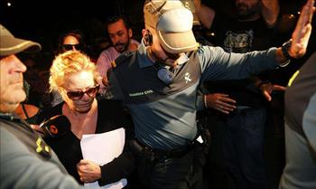 Mayte Zaldívar pasa su primera noche en prisión