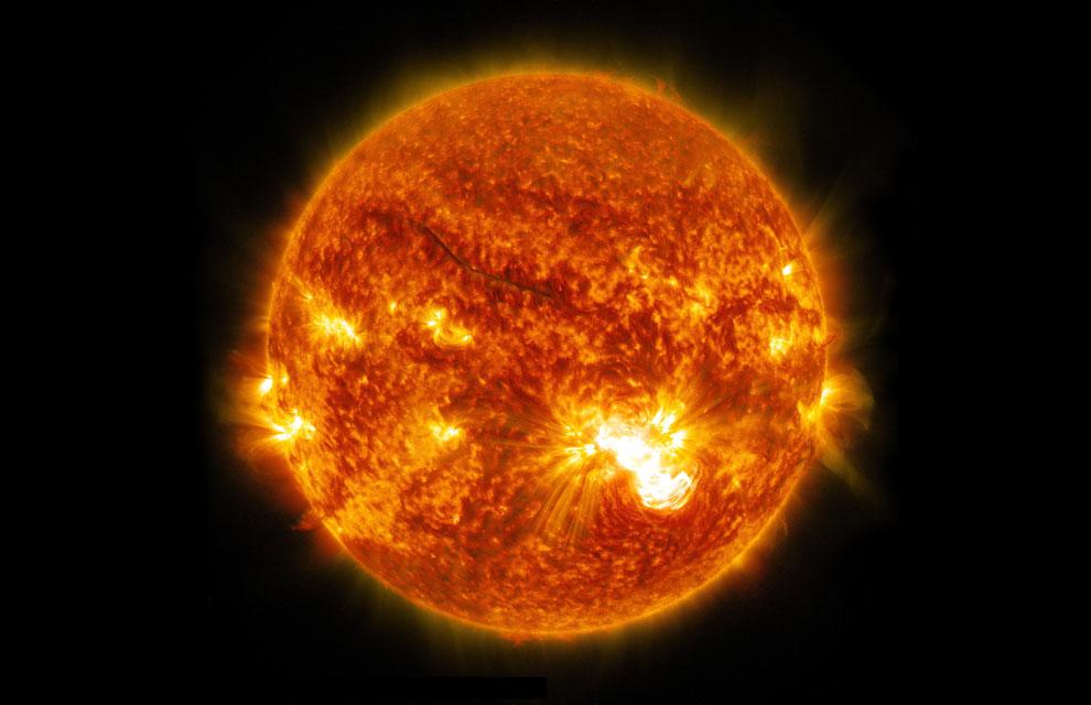 Las espeluznantes llamaradas solares
