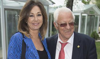 Ana Rosa Quintana, Mariló Montero y Carmen Martínez-Bordíu homenajean a su gran amigo, el padre Ángel