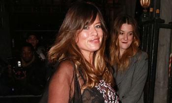 Jade Jagger, a sus 42 años, recupera poco a poco su figura tras convertirse en madre el pasado junio