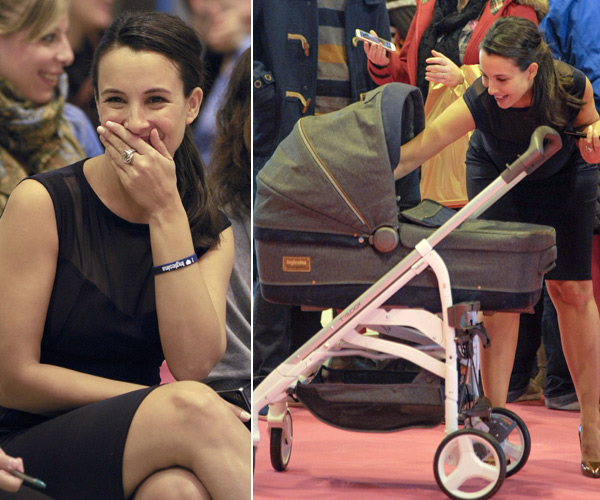 Xenia Tostado presume de embarazo mientras 'practica' para ser mamá