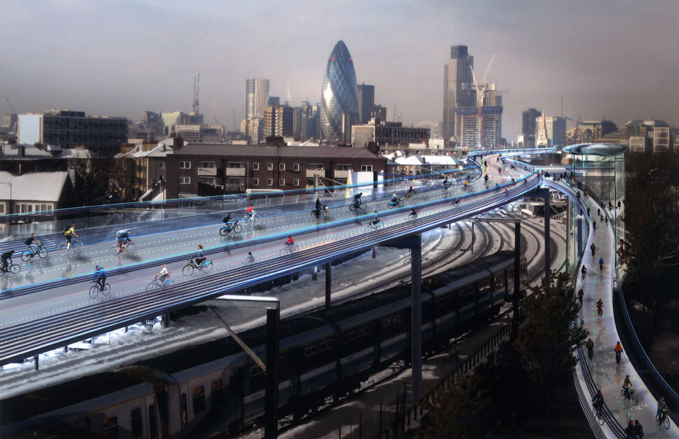 Londres, ¿próximo paraíso de los ciclistas?