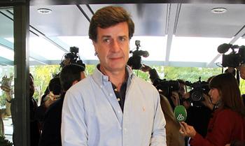 Cayetano Martínez de Irujo: 'A mi hermana le he dicho que no venga porque está en un viaje de trabajo'