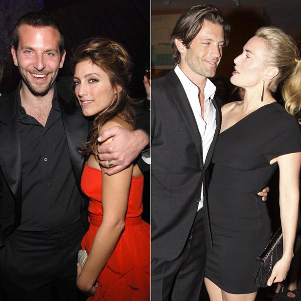 La exmujer de Bradley Cooper se casa con el exnovio de Kate Winslet