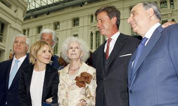 Así fue el reparto adelantado de la herencia de la Duquesa de Alba