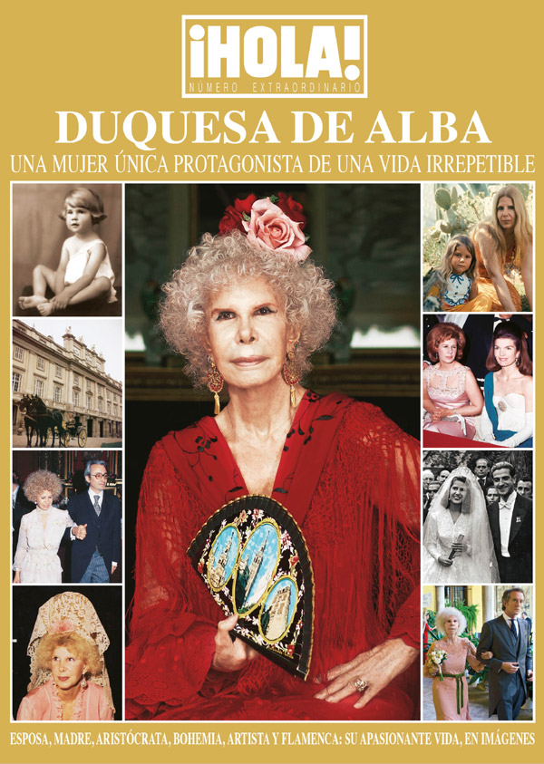 Las portadas que la Duquesa de Alba protagonizó en ¡HOLA!, reunidas ahora en tu tablet
