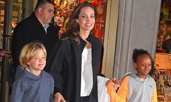 Shiloh y Zahara Jolie-Pitt, tan distintas pero tan iguales