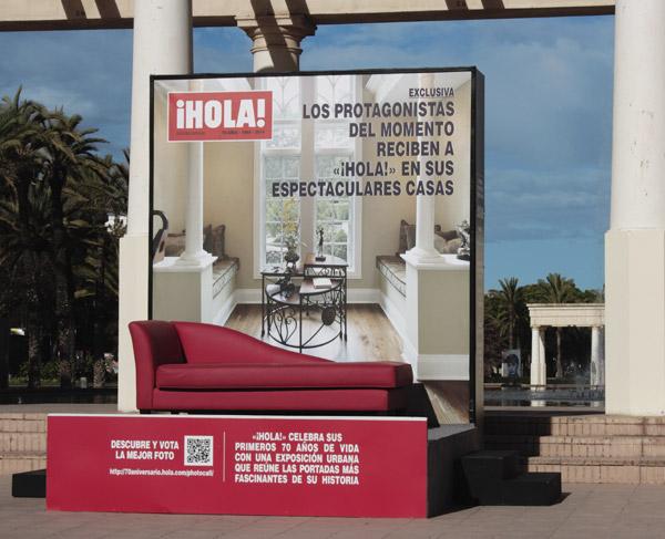 Los 70 'Grandes Momentos' de la revista ¡HOLA! llegan a Valencia