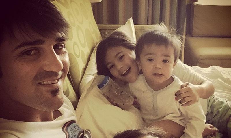 David Villa apura el tiempo en familia antes de debutar en la liga estadounidense