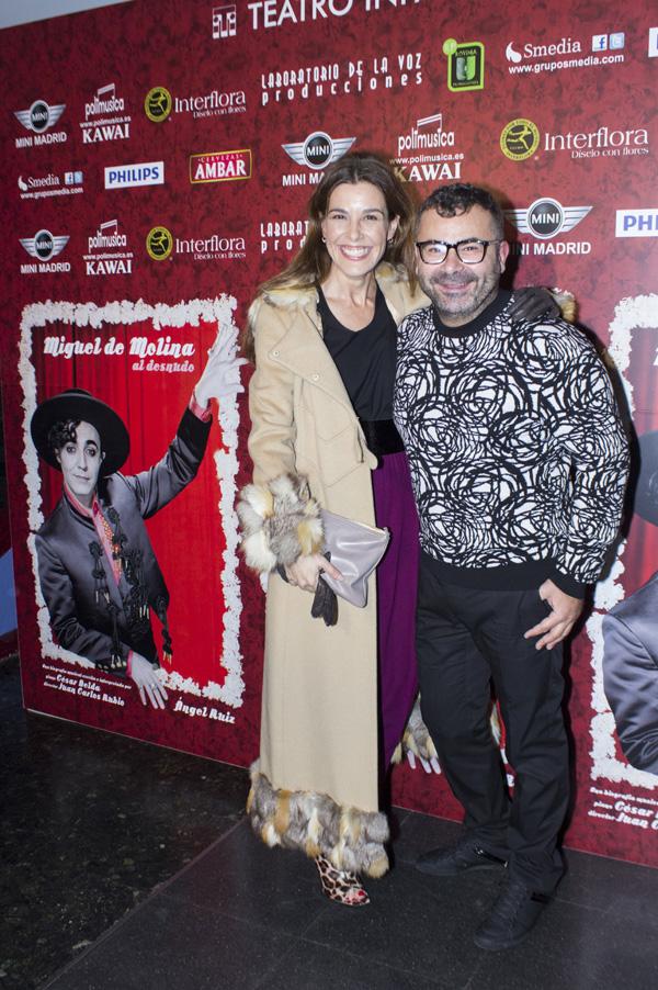La accidentada noche de teatro de Jorge Javier Vázquez