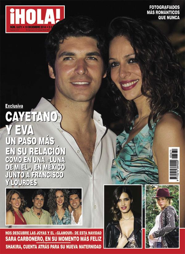 Así fue la escapada romántica de Cayetano y Eva a Acapulco