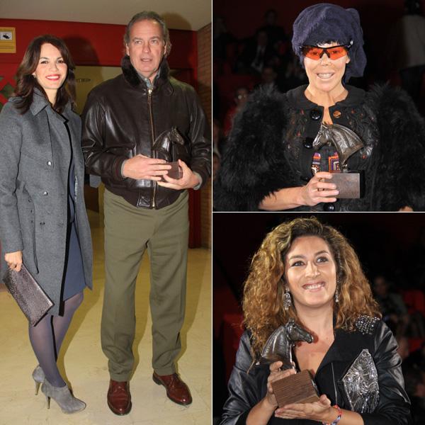 Marta González y Astrid Klisans se rodean de buenos amigos en su debut como embajadoras del Sicab