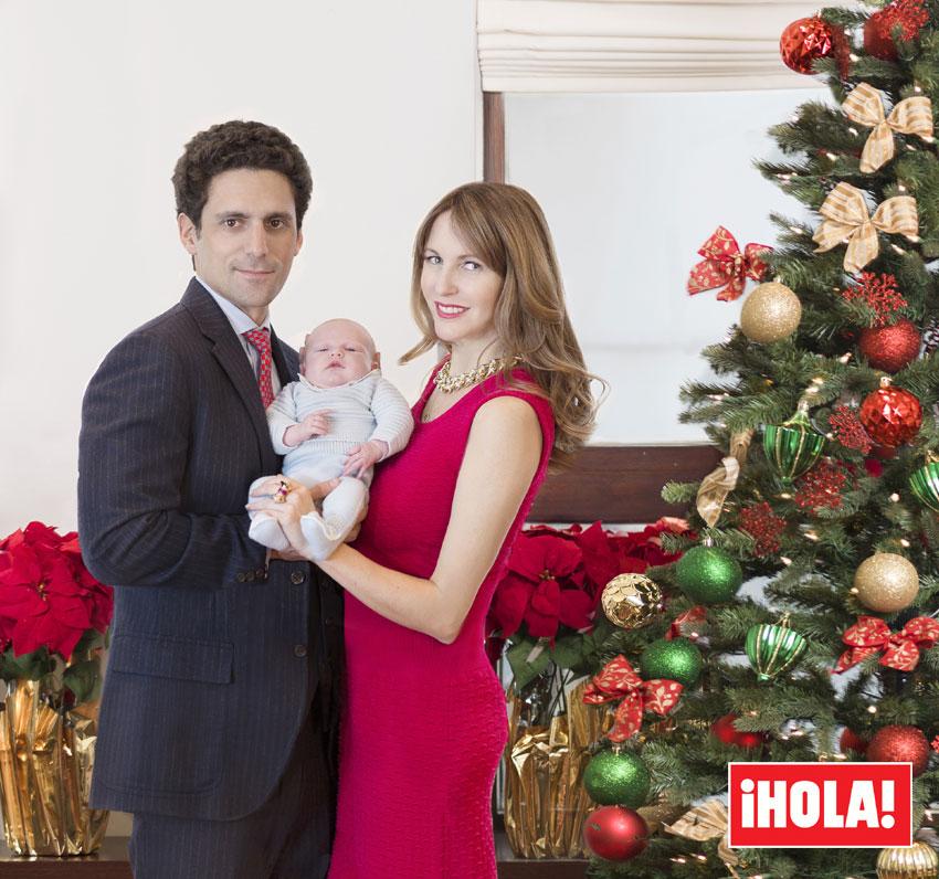 Vega Royo-Villanova y Marcelo Berenstein nos presentan en exclusiva a su hijo Noah
