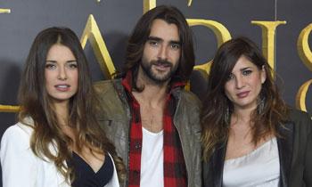 Aitor Luna, dividido entre 'dos amores', Natasha Yarovenko y Lucía Jiménez