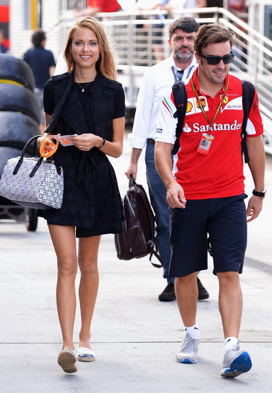 Dasha Kapustina, ¿dónde está Fernando Alonso?