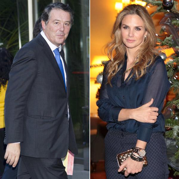 La 'no cena' de Genoveva Casanova y José María Michavila