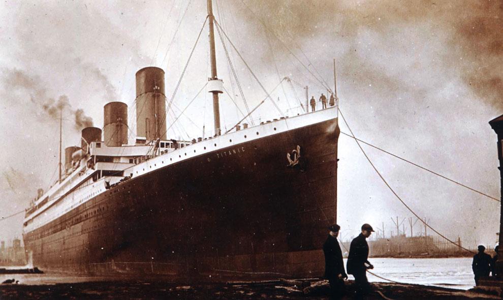 Salen a la luz fotos inéditas del Titanic