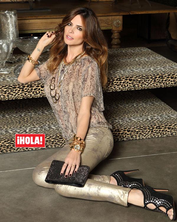 Romina Belluscio se sincera en ¡HOLA!: 'No cambiaría los pasos que he dado en mi vida. Creo que todos me llevaban a José (Guti) y a mi hijo, al que amo'