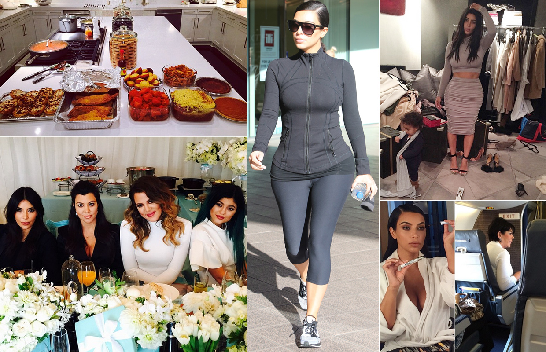 Un día en la (dura) vida de las Kardashian