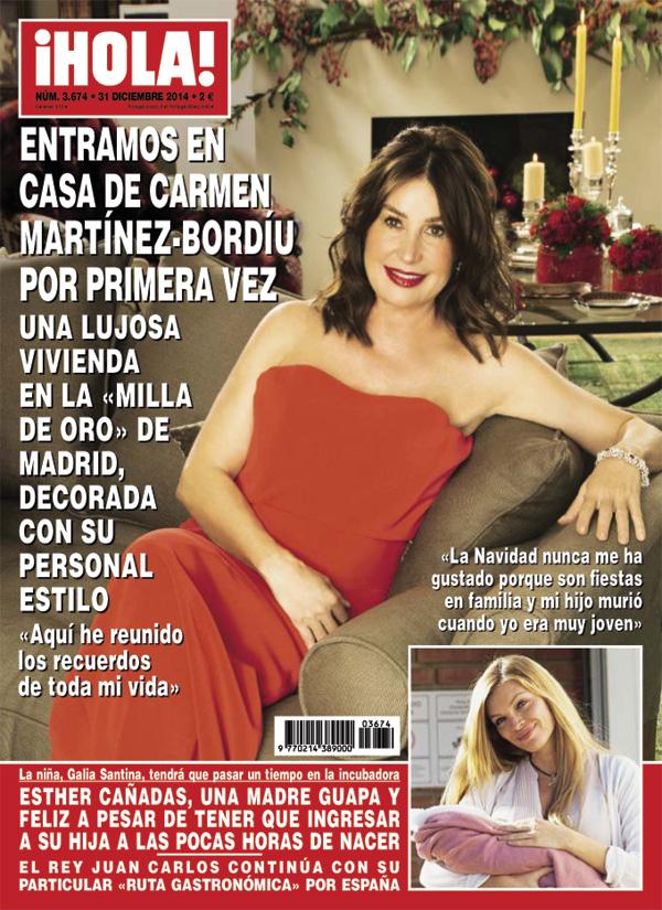 ¡HOLA! adelanta su edición y entra por primera vez en la casa de Carmen Martínez-Bordiú