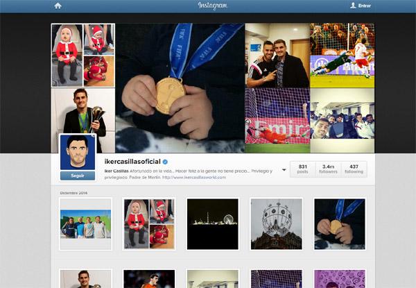 Iker Casillas y Sara Carbonero comparten una foto de su precioso Papá Noel