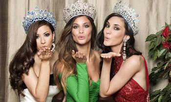 Nuestras reinas de la belleza posan en exclusiva para hola.com