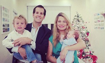 Una Navidad diferente para Carla Goyanes y Jorge Benguría