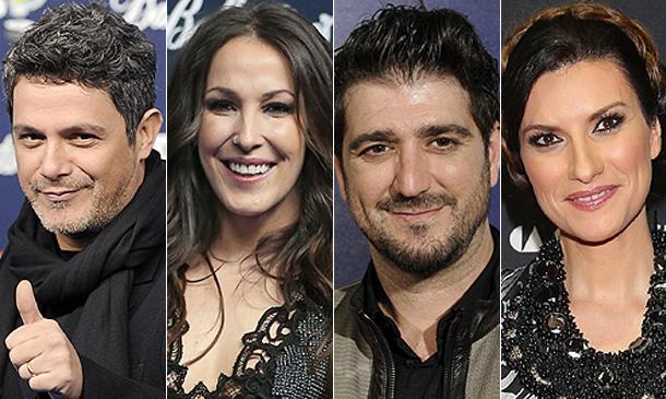 ¡Confirmado! Alejandro Sanz, Malú, Antonio Orozco y Laura Pausini, coaches de 'La Voz'