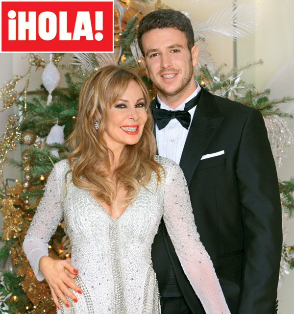 ¡HOLA! brinda por el nuevo año con Álex Lequio Obregón, todo un galán