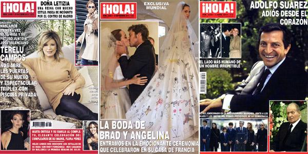Y la portada favorita de los lectores de ¡HOLA! es...