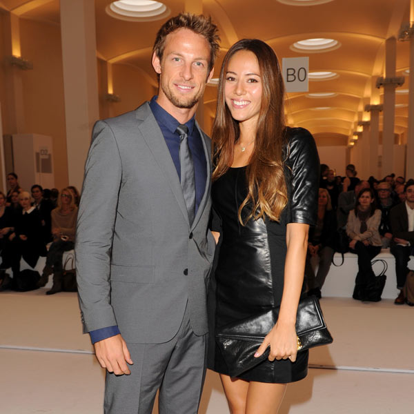 Jenson Button y Jessica Michibata ya son marido y mujer