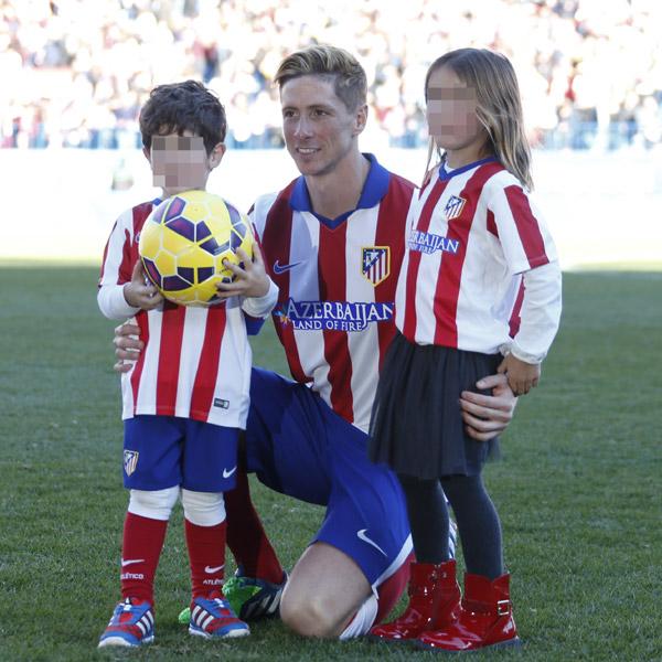 Fernando Torres vive su momento más esperado ante la mirada orgullosa de su familia
